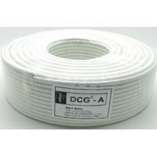 DCG  RG-6 white   100 m